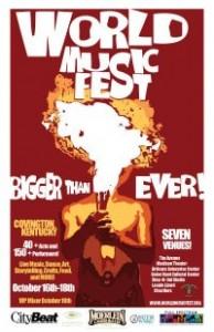 world music fest poster